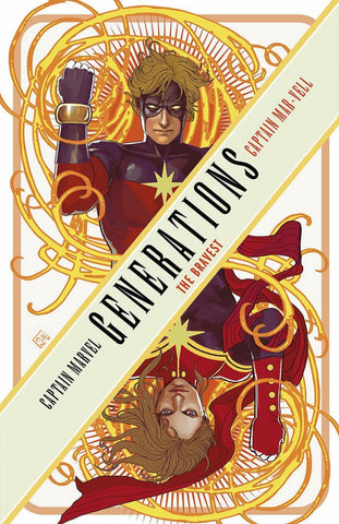 GENERATIONS CAPT MARVEL & CAPT MAR-VELL #1 FRIED PIE EXCLUSIVE