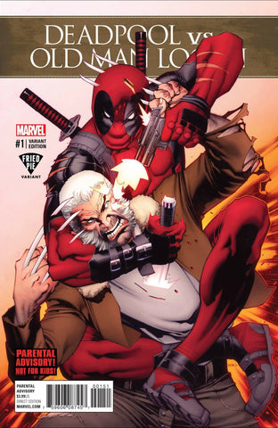 DEADPOOL VS OLD MAN LOGAN #1 (OF 5) FRIED PIE EXCLUSIVE