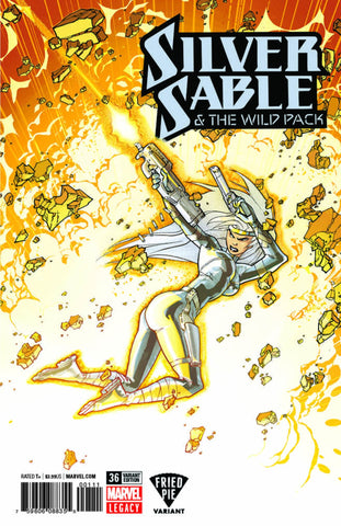 SILVER SABLE WILD PACK #36 LEG FRIED PIE EXCLUSIVE