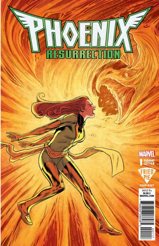 PHOENIX RESURRECTION RETURN JEAN GREY #1 (OF 5) FRIED PIE EXCLUSIVE