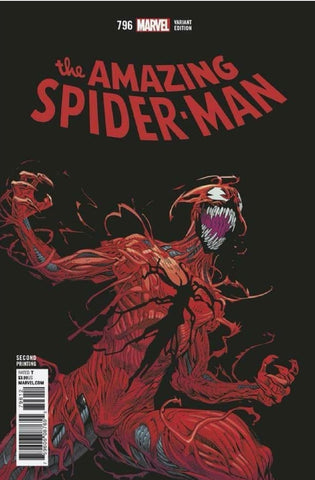 AMAZING SPIDER-MAN #796 LEG 2ND PRT