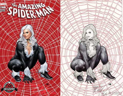 AMAZING SPIDER-MAN #799 FRANK CHO EXCLUSIVE 2 PACK