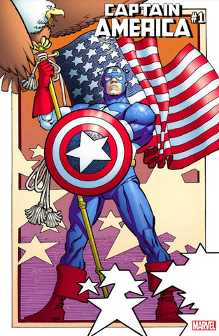 CAPTAIN AMERICA #1 MILLER REMASTERED VAR