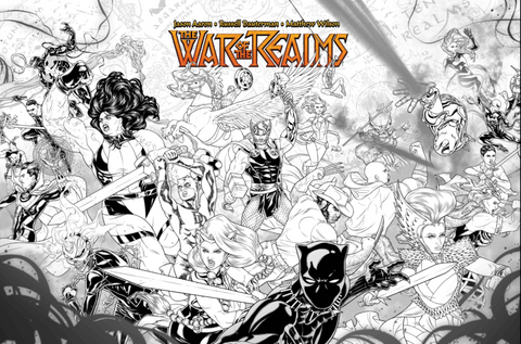 WAR OF REALMS #1 (OF 6) DAUTERMAN CONCEPT VAR