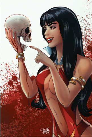 VENGEANCE OF VAMPIRELLA #1 NYCC FABIO VALLE VIRGIN EXCLUSIVE