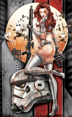 WHITE WIDOW #2 REBELS MAY CRY JAMIE TYNDALL METAL EXCLUSIVE ( WITH BONUS )