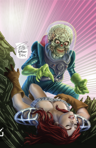 MARS ATTACKS RED SONJA #1 RON LEARY HOMAGE VIRGIN EXCLUSIVE