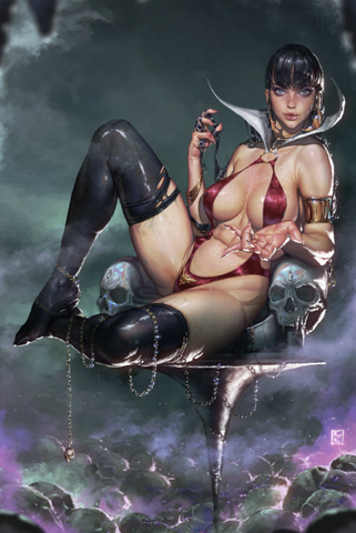 VAMPIRELLA #13 KYUYONG EOM VIRGIN EXCLUSIVE