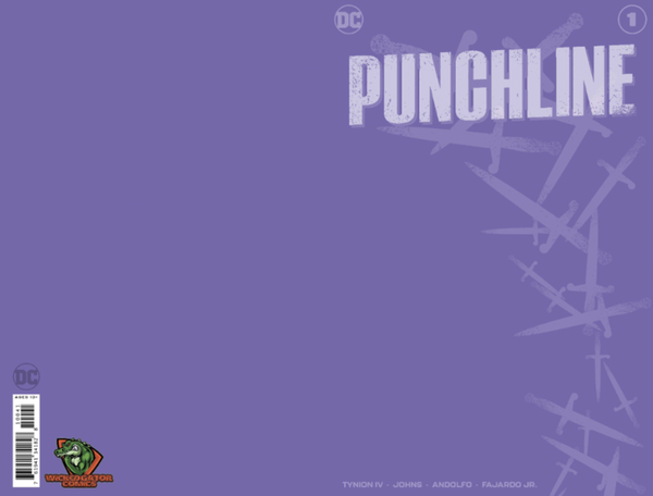 PUNCHLINE SPECIAL #1 PURPLE BLANK EXCLUSIVE