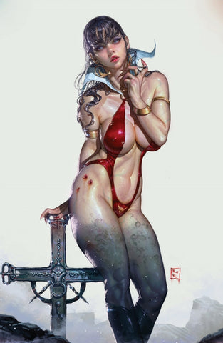 VAMPIRELLA VALENTINES SP ONE SHOT KYUYONG EOM VIRGIN EXCLUSIVE