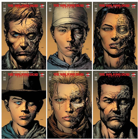 WALKING DEAD DLX #1-6 2ND PTG SIX PACK  (MR)