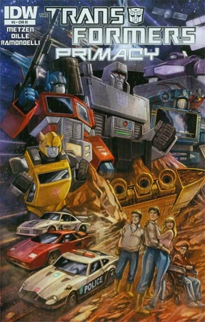 Transformers Primacy #3 Cover C Incentive 30th Anniversary