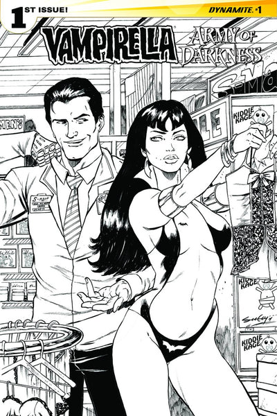 VAMPIRELLA ARMY OF DARKNESS #1 (OF 4) CVR D 10 COPY INCV