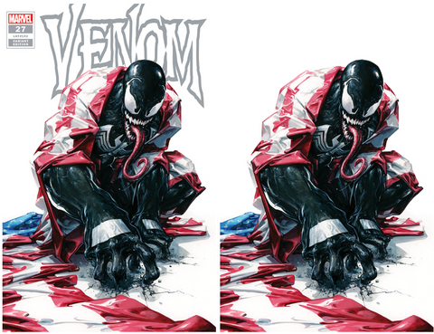 VENOM #27 CLAYTON CRAIN 2 PACK INFINITY SIGNED EXCLUJSIVE