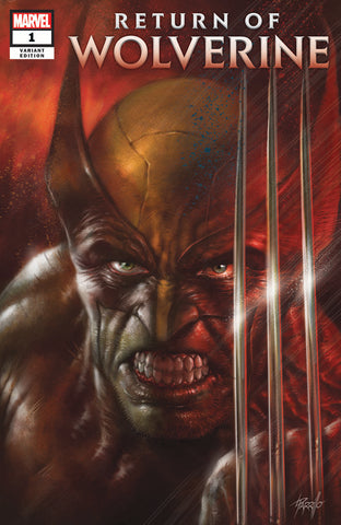 RETURN OF WOLVERINE #1 (OF 5) LUCIO PARRILLO COMICXPOSURE EXCLUSIVE