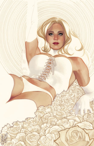 X-MEN BLACK EMMA FROST #1 ADAM HUGHES VIRGIN EXCLUSIVE