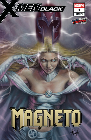 X-MEN BLACK MAGNETO #1 NYCC LUCIO PARRILLO COMICXPOSURE EXCLUSIVE