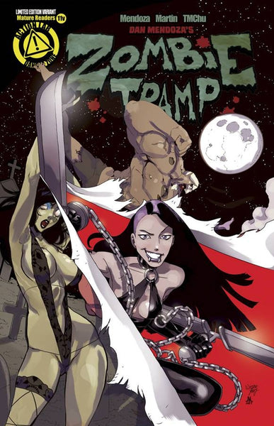 ZOMBIE TRAMP ONGOING #11 VAMPBLADE VARIANT