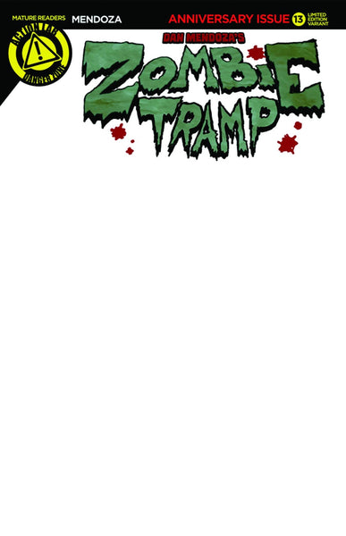 ZOMBIE TRAMP ONGOING #13 BLANK SKETCH VAR