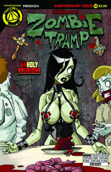 ZOMBIE TRAMP ONGOING #13 MAIN CVR
