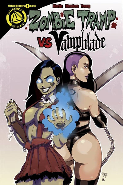 ZOMBIE TRAMP VS VAMPBLADE #1 MAIN COVER