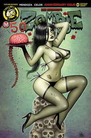 ZOMBIE TRAMP ONGOING #50 COMICXPOSURE NATHAN SZERDY EXCLUSIVE (MR)