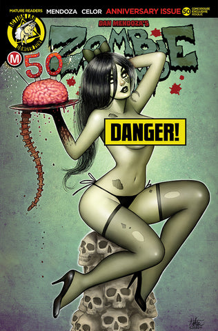ZOMBIE TRAMP ONGOING #50 COMICXPOSURE NATHAN SZERDY RISQUE EXCLUSIVE (MR)