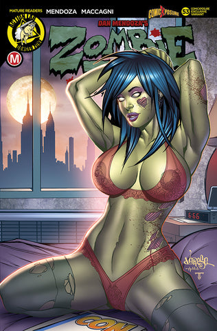 ZOMBIE TRAMP ONGOING #53 COMICXPOSURE JOSE VARESE EXCLUSIVE