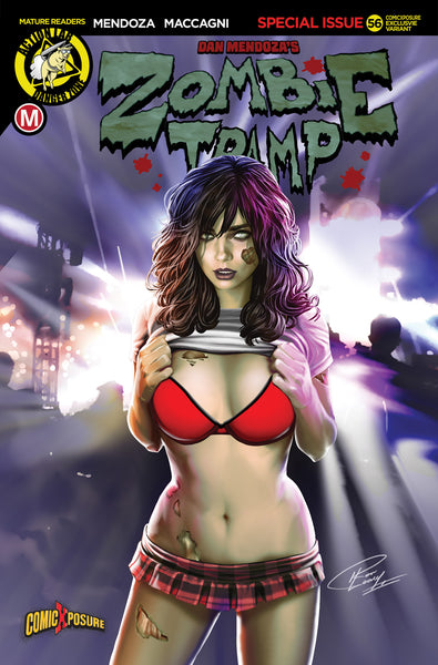 ZOMBIE TRAMP ONGOING #56 RON LEARY COMICXPOSURE EXCLUSIVE