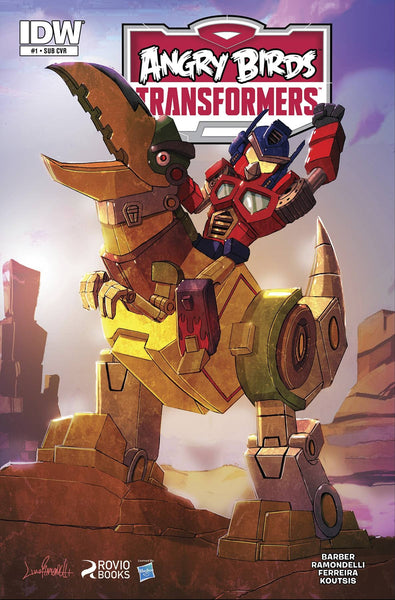 Angry Birds Transformers #1 Cover B