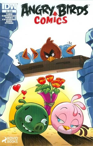 Angry Birds Comics #6 Cover A Regular Paco Rodriques Cover