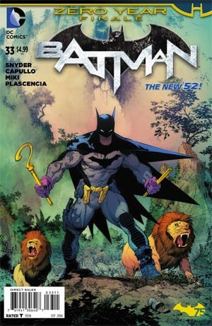 Batman Vol 2 #33 Cover A Regular Greg Capullo Cover