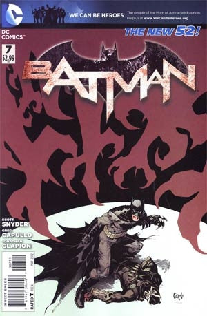 Batman Vol 2 #7 Regular Greg Capullo Cover
