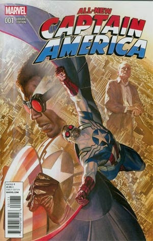 All-New Captain America #1 Cover G Incentive Alex Ross Variant C