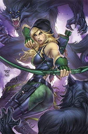 Grimm Fairy Tales Presents Robyn Hood Vol 2 #4 Cover B