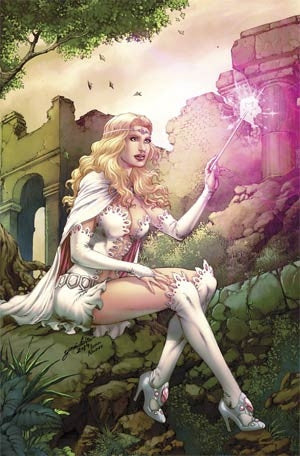 Grimm Fairy Tales Presents Tales From Oz #4 Glinda Cover C