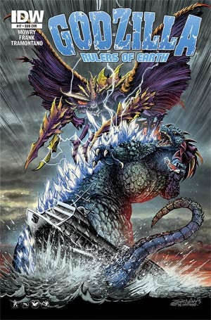 Godzilla Rulers Of The Earth #18 Cover B