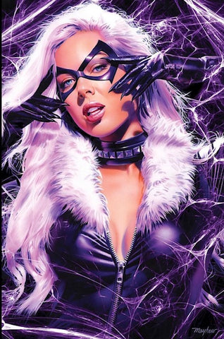 BLACK CAT #1 MIKE MAYHEW EXCLUSIVE COVER