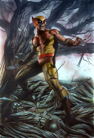RETURN OF WOLVERINE #1 (OF 5) MARK BROOKS BROWN & YELLOW EXCLUSIVE