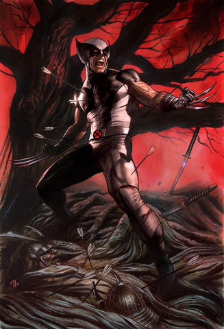 RETURN OF WOLVERINE #1 (OF 5) MARK BROOKS GREY & BLACK EXCLUSIVE
