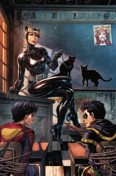 SUPER SONS #1 UNKNOWN TYLER KIRKHAM VARIANT CATWOMAN