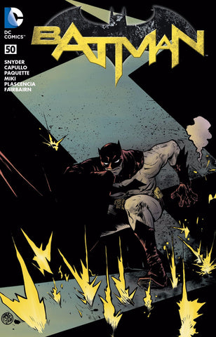 BATMAN #50 EXCLUSIVE PAUL POPE CBLDF VARIANT