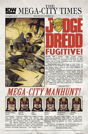 Judge Dredd Vol 4 #25 Cover A