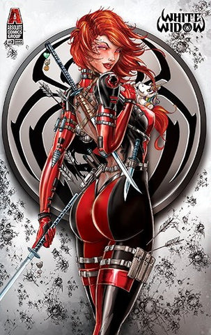 WHITE WIDOW #3 JAMIE TYNDALL COSPLAY BLOOD MERC EXCLUSIVE