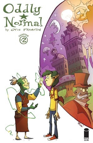Oddly Normal Vol 2 #2 Cover B