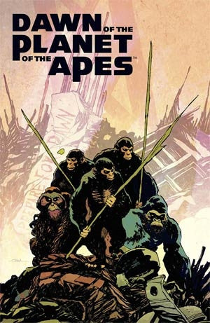Dawn Of The Planet Of The Apes #1 Cover A