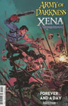 AOD XENA FOREVER AND A DAY #1 (OF 6) CVR A BROWN