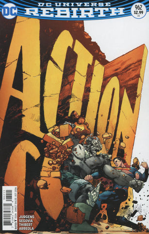 ACTION COMICS #962 COVER A 1st PRINT