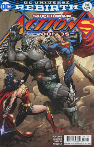 ACTION COMICS #962 COVER B VARIANT