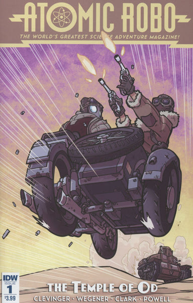 ATOMIC ROBO & THE TEMPLE OF OD #1 OF 5 COVER A 1st PRINT